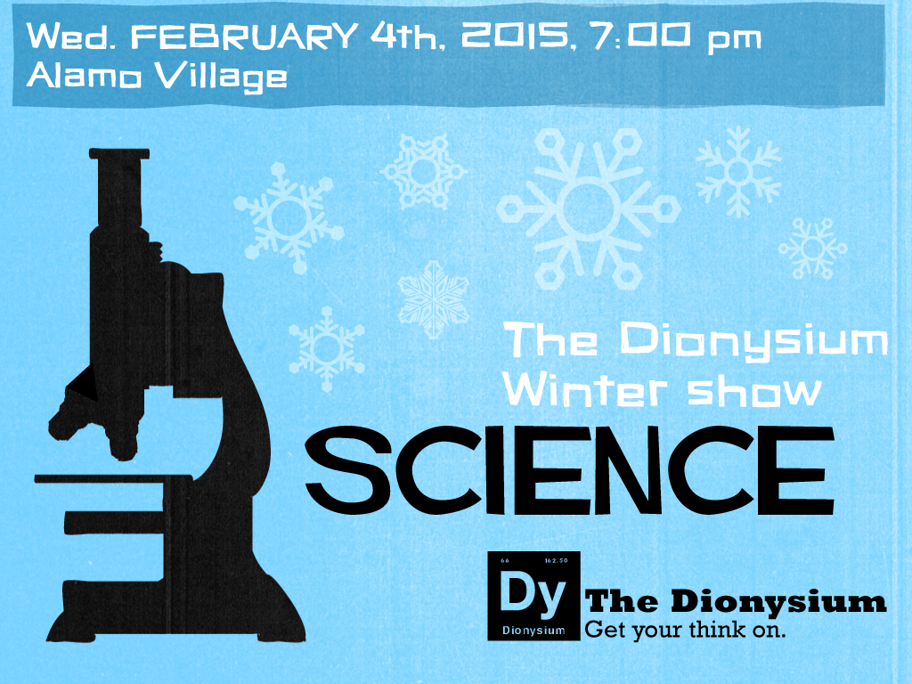 The Winter Science show will be our first quarterly show.